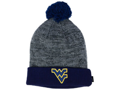 West Virginia Mountaineers Nike NCAA Heather Pom Knit