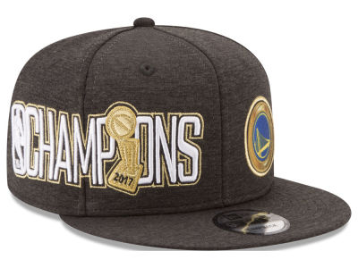 Golden State Warriors New Era 2017 NBA Finals Champ Secondary 9FIFTY Snapback Cap