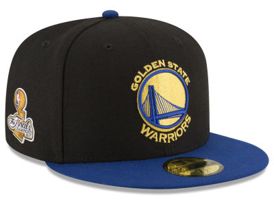 Golden State Warriors New Era 2017 NBA 2Tone Finals Patch 59FIFTY Cap