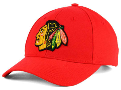 Chicago Blackhawks adidas NHL Core Basic Adjustable Cap