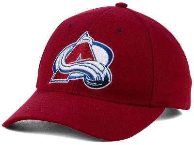 Colorado Avalanche adidas NHL Core Basic Adjustable Cap