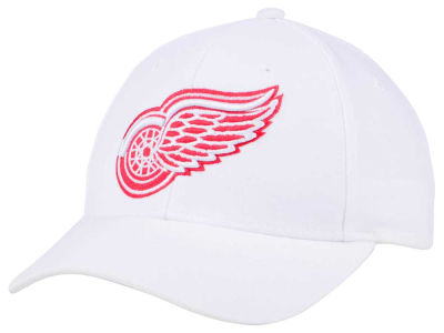 Detroit Red Wings adidas NHL Core Basic Adjustable Cap