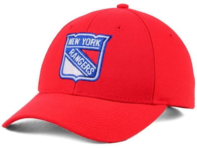 New York Rangers adidas NHL Core Basic Adjustable Cap