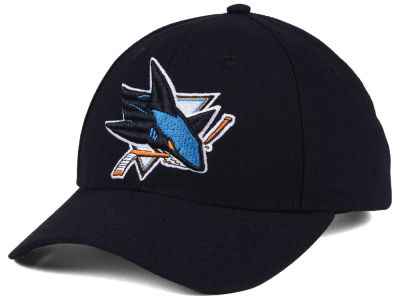 San Jose Sharks adidas NHL Core Basic Adjustable Cap