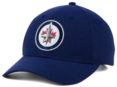 Winnipeg Jets adidas NHL Core Basic Adjustable Cap