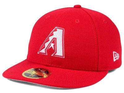 Arizona Diamondbacks New Era MLB Low Profile C-DUB 59FIFTY Cap