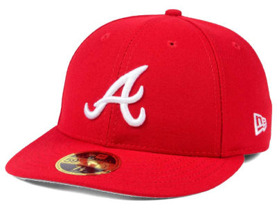 Atlanta Braves New Era MLB Low Profile C-DUB 59FIFTY Cap