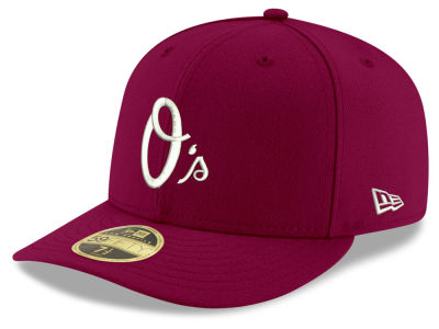 Baltimore Orioles New Era MLB Low Profile C-DUB 59FIFTY Cap
