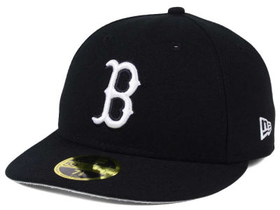 Boston Red Sox New Era MLB Low Profile C-DUB 59FIFTY Cap