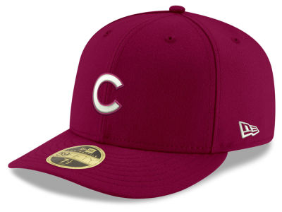 Chicago Cubs New Era MLB Low Profile C-DUB 59FIFTY Cap