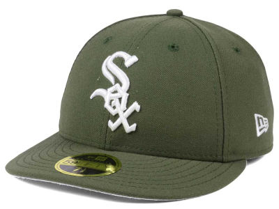 Chicago White Sox New Era MLB Low Profile C-DUB 59FIFTY Cap