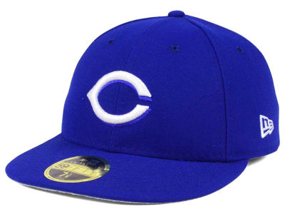 Cincinnati Reds New Era MLB Low Profile C-DUB 59FIFTY Cap