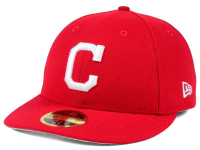 Cleveland Indians New Era MLB Low Profile C-DUB 59FIFTY Cap