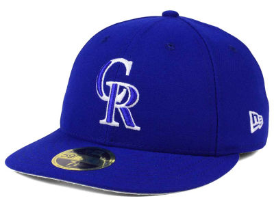 Colorado Rockies New Era MLB Low Profile C-DUB 59FIFTY Cap