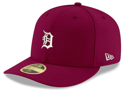Detroit Tigers New Era MLB Low Profile C-DUB 59FIFTY Cap