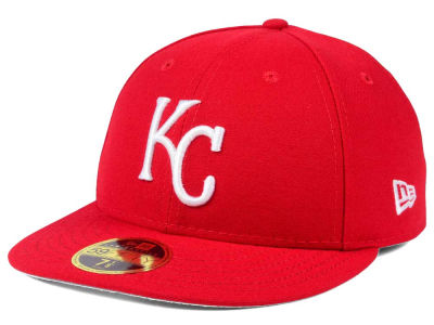 Kansas City Royals New Era MLB Low Profile C-DUB 59FIFTY Cap