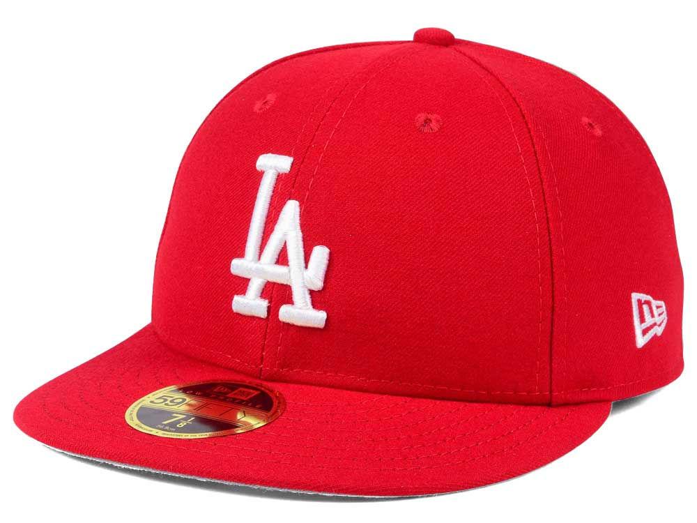 Los Angeles Dodgers New Era MLB Low Profile C-DUB 59FIFTY Cap  5c2981802893