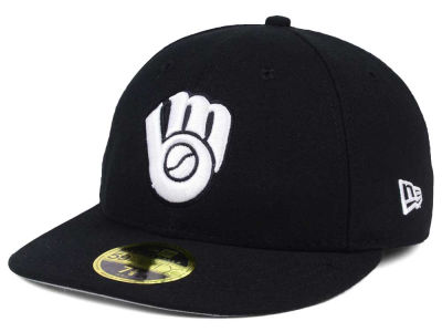 Milwaukee Brewers New Era MLB Low Profile C-DUB 59FIFTY Cap