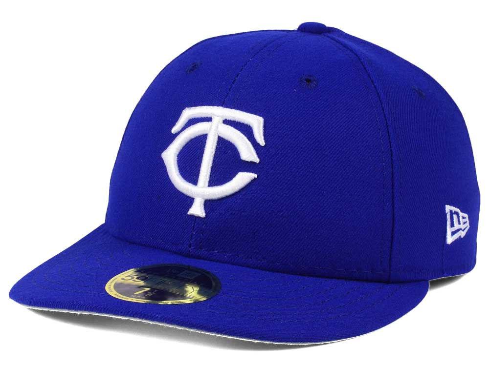 Minnesota Twins New Era MLB Low Profile C-DUB 59FIFTY Cap  cc9518f6d700