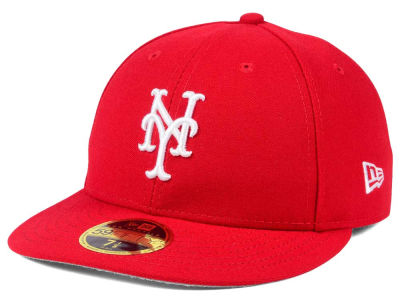 New York Mets New Era MLB Low Profile C-DUB 59FIFTY Cap