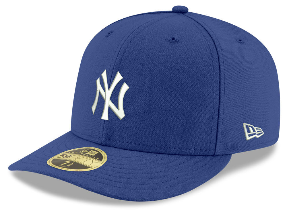 the best attitude adfb4 244fa ... real new york yankees new era mlb low profile c dub 59fifty cap 098be  67eb0