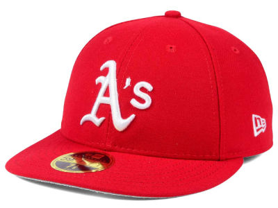 Oakland Athletics New Era MLB Low Profile C-DUB 59FIFTY Cap