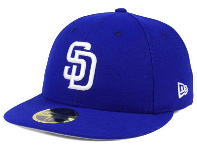 San Diego Padres New Era MLB Low Profile C-DUB 59FIFTY Cap