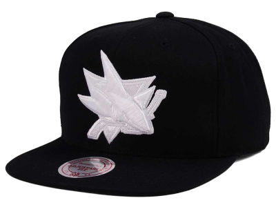 San Jose Sharks adidas NHL Respect Snapback Cap