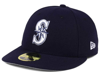 Seattle Mariners New Era MLB Low Profile C-DUB 59FIFTY Cap