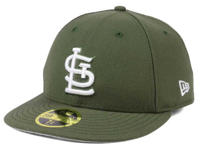 St. Louis Cardinals New Era MLB Low Profile C-DUB 59FIFTY Cap