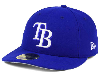 Tampa Bay Rays New Era MLB Low Profile C-DUB 59FIFTY Cap