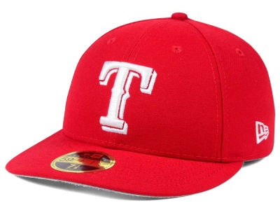 Texas Rangers New Era MLB Low Profile C-DUB 59FIFTY Cap