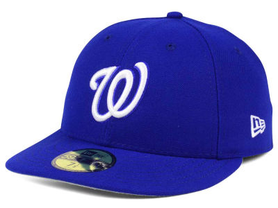Washington Nationals New Era MLB Low Profile C-DUB 59FIFTY Cap