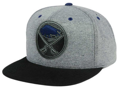 Buffalo Sabres adidas NHL Heather Snapback Cap