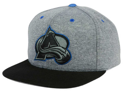 Colorado Avalanche adidas NHL Heather Snapback Cap