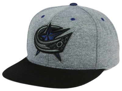 Columbus Blue Jackets adidas NHL Heather Snapback Cap