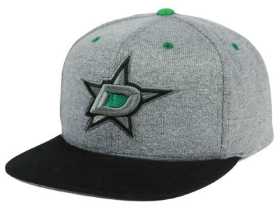 Dallas Stars adidas NHL Heather Snapback Cap
