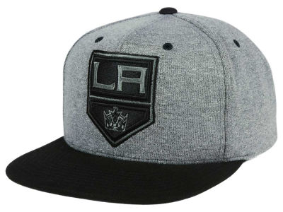 Los Angeles Kings adidas NHL Heather Snapback Cap