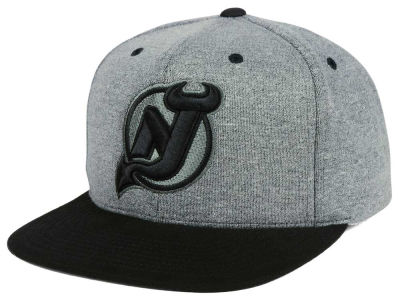 New Jersey Devils adidas NHL Heather Snapback Cap