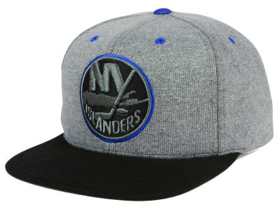 New York Islanders adidas NHL Heather Snapback Cap