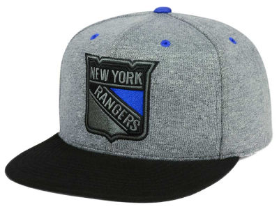 New York Rangers adidas NHL Heather Snapback Cap