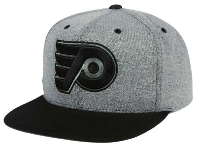 Philadelphia Flyers adidas NHL Heather Snapback Cap