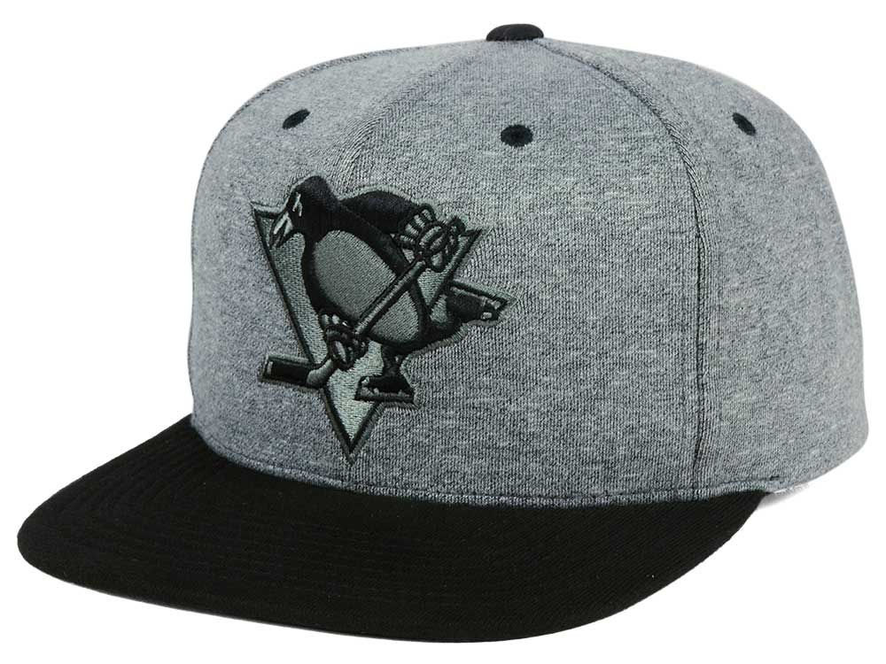 3b81c5e108a Pittsburgh Penguins adidas NHL Heather Snapback Cap