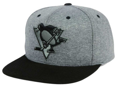Pittsburgh Penguins adidas NHL Heather Snapback Cap