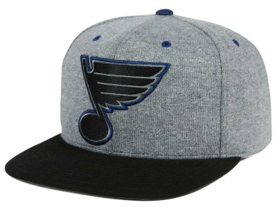St. Louis Blues adidas NHL Heather Snapback Cap