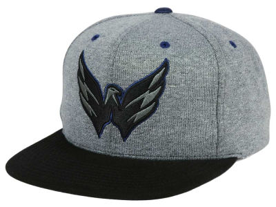 Washington Capitals adidas NHL Heather Snapback Cap