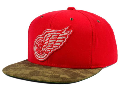 Detroit Red Wings adidas NHL Fashion Camo Snapback Cap
