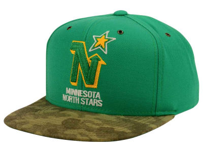 Minnesota North Stars adidas NHL Fashion Camo Snapback Cap