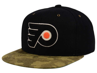 Philadelphia Flyers adidas NHL Fashion Camo Snapback Cap