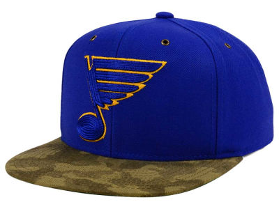 St. Louis Blues adidas NHL Fashion Camo Snapback Cap